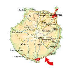 Bahia Feliz map