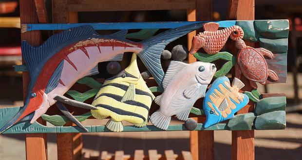 Market sculptures